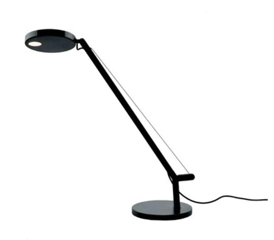 Table lamp Artemide Demetra Micro Table Czarna 2700K