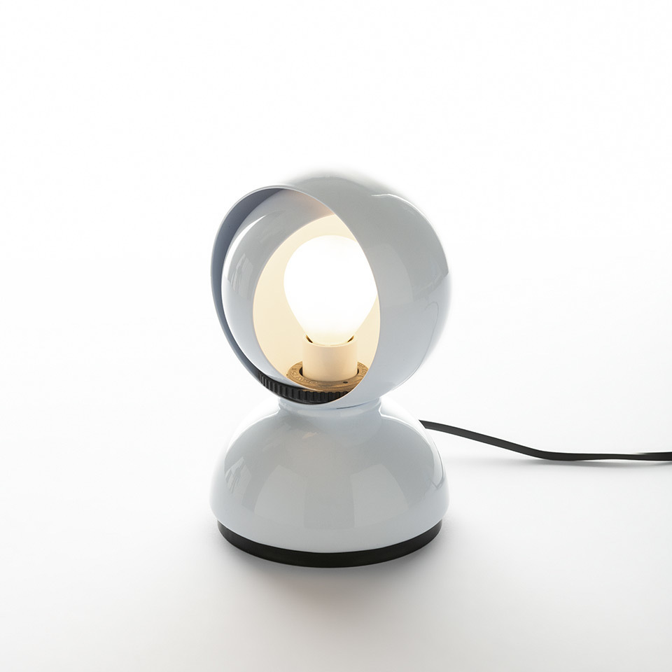 Modern White Desk Lamp ARTEMIDE ELISSE