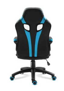 Ultra comfortable HZ-Force 2.5 Blue gaming chair small 1