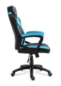Ultra comfortable HZ-Force 2.5 Blue gaming chair small 2