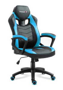 Ultra comfortable HZ-Force 2.5 Blue gaming chair small 0
