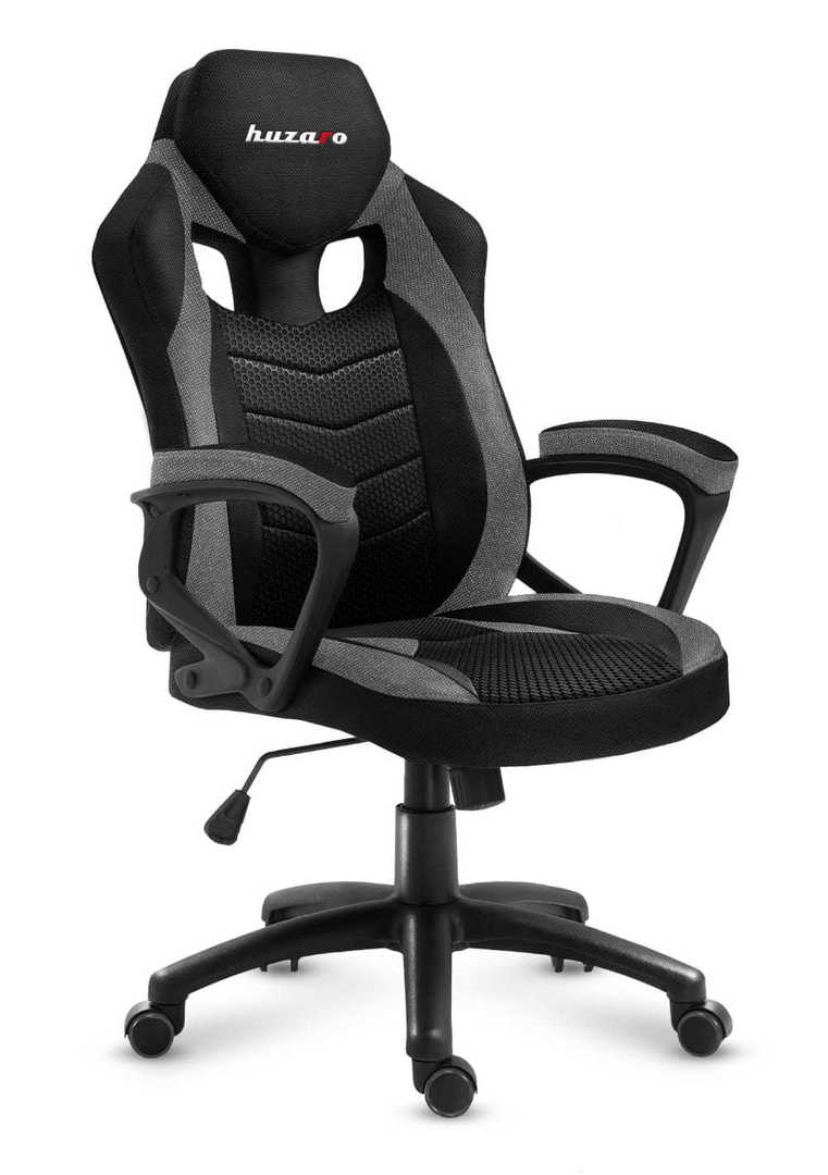 Ultra comfortable HZ-Force 2.5 Gray Mesh gaming chair