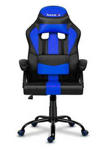 Ultra comfortable HZ-Force 3.0 BLUE gaming chair small 1