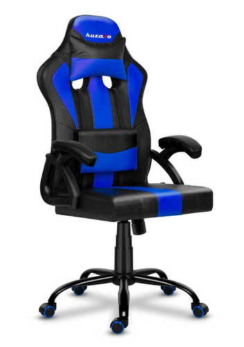 Ultra comfortable HZ-Force 3.0 BLUE gaming chair