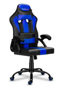 Ultra comfortable HZ-Force 3.0 BLUE gaming chair small 0
