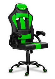 Ultra comfortable HZ-Force 3.0 Green gaming chair small 0