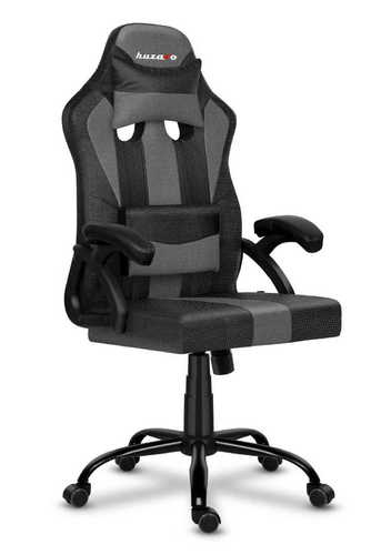 Ultra comfortable HZ-Force 3.0 Gray Mesh gaming chair