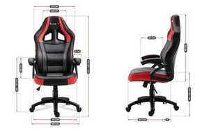 Ultra comfortable gaming chair HZ-Force 4.2 Red small 3