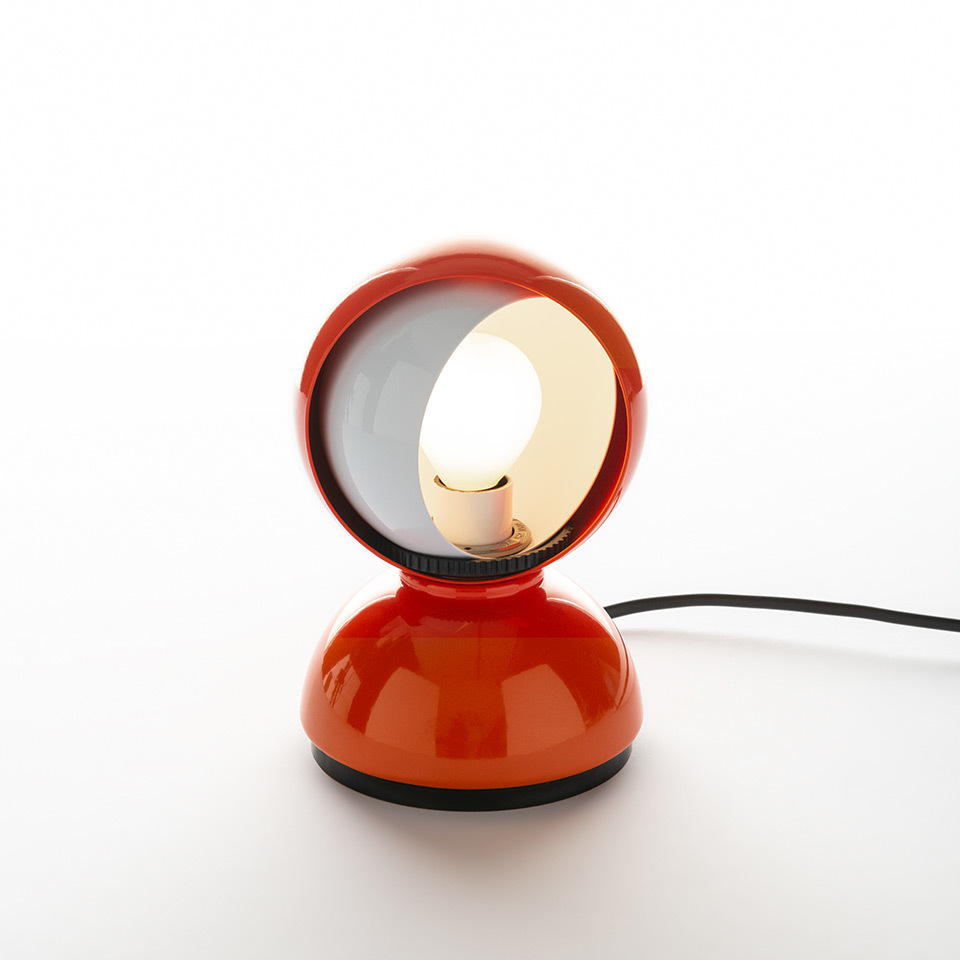 Table lamp Artemide ECLISSE orange