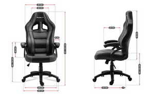 Ultra comfortable gaming chair HZ-Force 4.2 Gray small 3