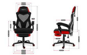 Ultra comfortable gaming chair HZ-Combat 3.0 Red small 3