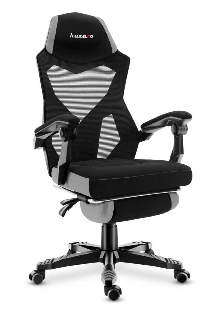 Ultra comfortable HZ-Combat 3.0 Gray gaming chair