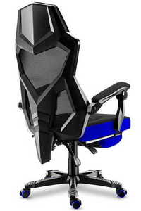 Ultra comfortable HZ-Combat 3.0 Blue gaming chair small 1