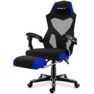 Ultra comfortable HZ-Combat 3.0 Blue gaming chair small 2
