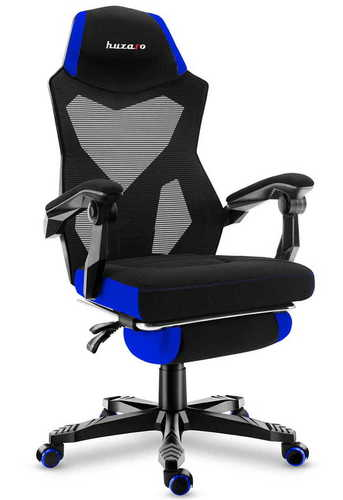 Ultra comfortable HZ-Combat 3.0 Blue gaming chair