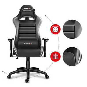 Ultra comfortable HZ-Force 6.0 Gray gaming chair small 1