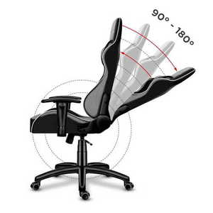 Ultra comfortable HZ-Force 6.0 Gray gaming chair small 2