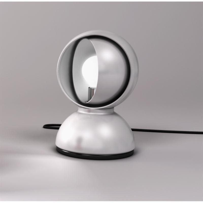 Table lamp Artemide ECLISSE silver