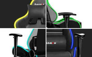 Ultra comfortable HZ-Force 6.0 RGB gaming chair small 1