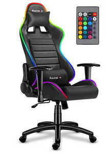 Ultra comfortable HZ-Force 6.0 RGB gaming chair small 0
