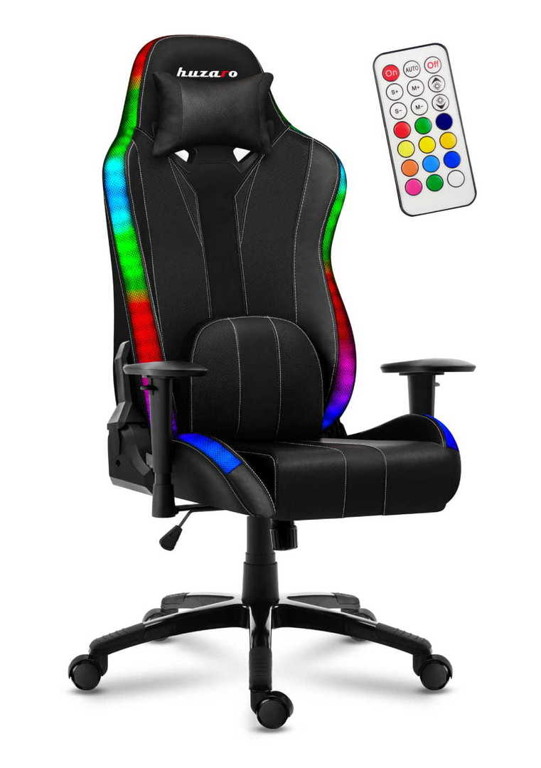 Ultra comfortable HZ-Force 6.7 RGB gaming chair