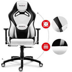 Ultra comfortable gaming chair HZ-Force 7.3 White small 1