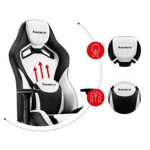 Ultra comfortable gaming chair HZ-Force 7.3 White small 2