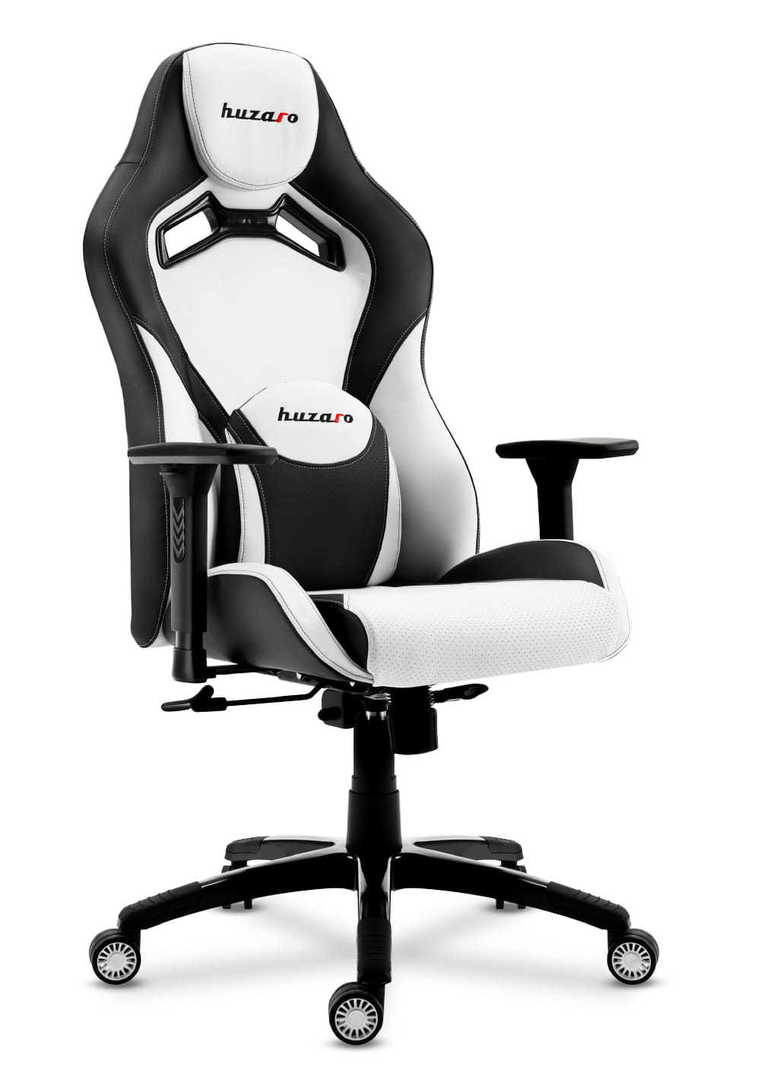 Ultra comfortable gaming chair HZ-Force 7.3 White
