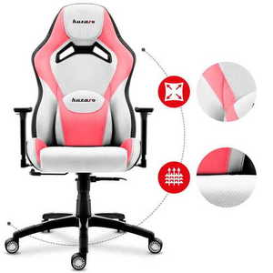 Ultra comfortable gaming chair HZ-Force 7.3 Pink small 2
