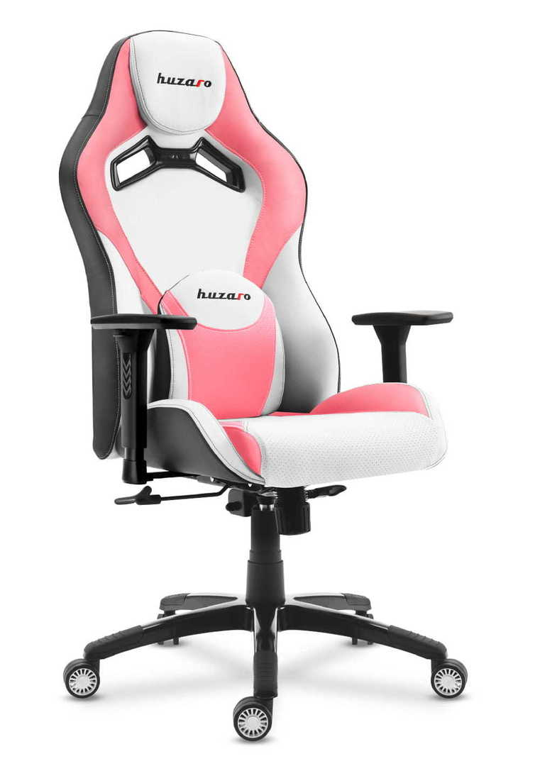 Ultra comfortable gaming chair HZ-Force 7.3 Pink