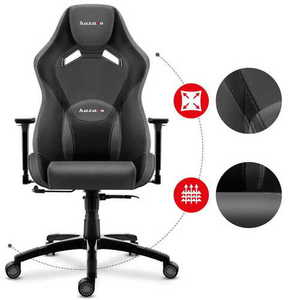 Ultra comfortable gaming chair HZ-Force 7.3 Gray small 2