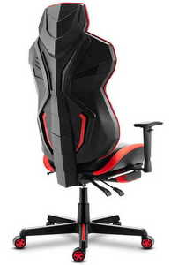 Ultra comfortable HZ-Combat 6.0 Red gaming chair small 1