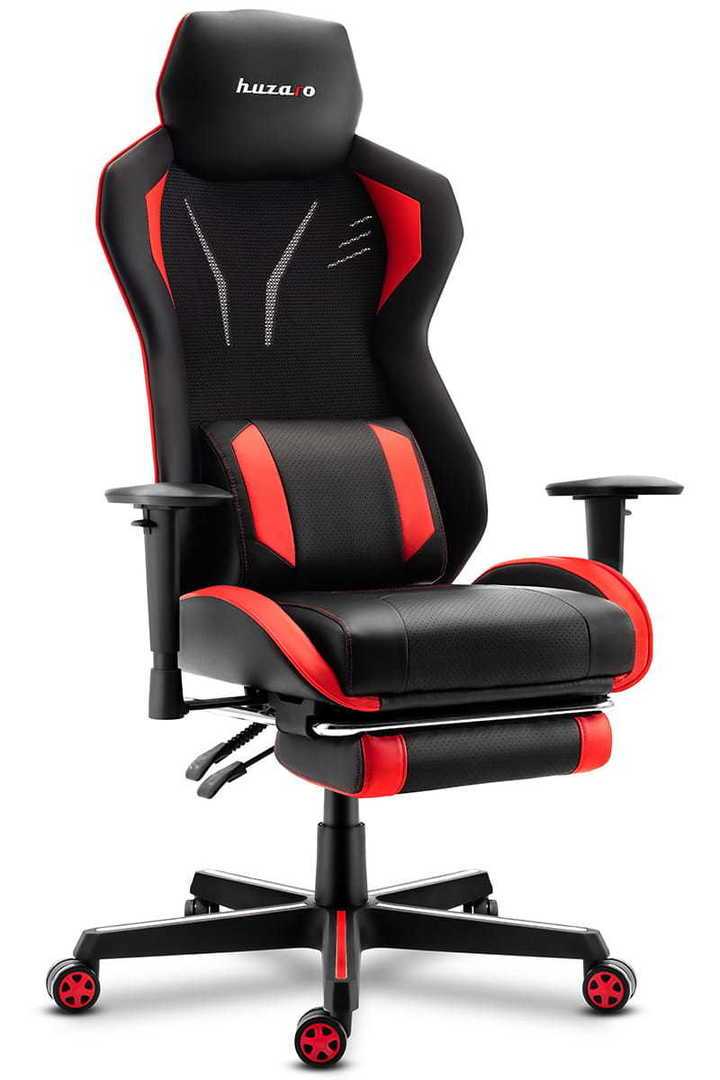 Ultra comfortable HZ-Combat 6.0 Red gaming chair
