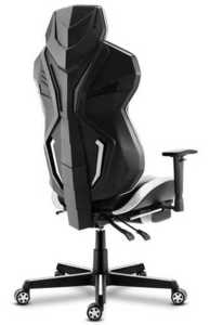 Ultra comfortable HZ-Combat 6.0 White gaming chair small 1