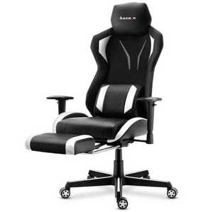 Ultra comfortable HZ-Combat 6.0 White gaming chair small 2