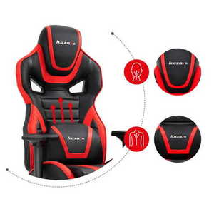 Ultra comfortable gaming chair HZ-Force 7.5 Red small 2