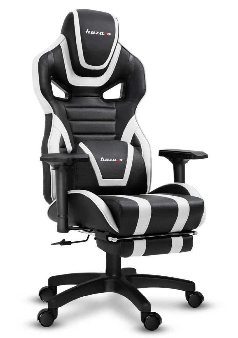 Ultra comfortable gaming chair HZ-Force 7.5 White