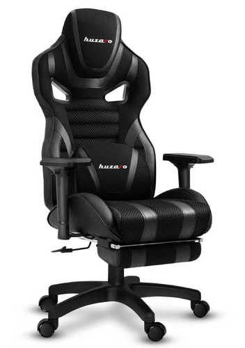Ultra comfortable HZ-Force 7.5 Black Mesh gaming chair