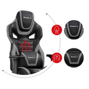 Ultra comfortable gaming chair HZ-Force 7.5 Gray small 2