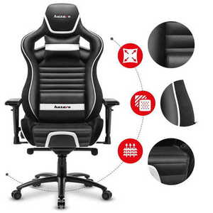 Ultra comfortable gaming chair HZ-Force 8.2 White small 2