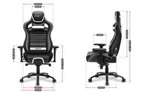 Ultra comfortable gaming chair HZ-Force 8.2 White small 3