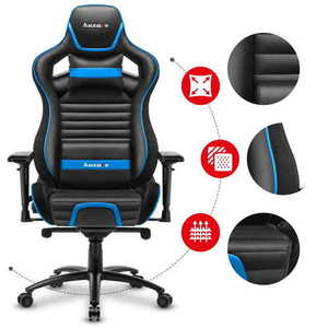 Ultra comfortable gaming chair HZ-Force 8.2 Blue small 2