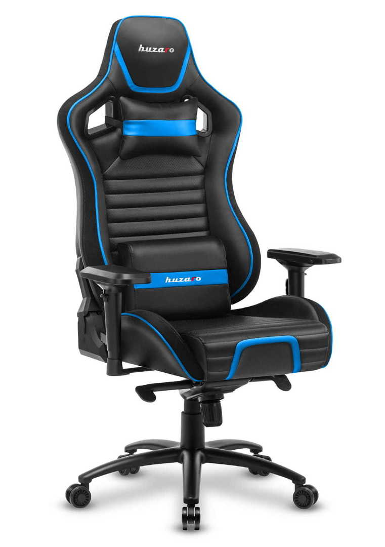 Ultra comfortable gaming chair HZ-Force 8.2 Blue
