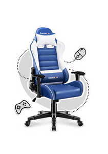 Ultra comfortable HZ-Ranger 6.0 Blue gaming chair small 1