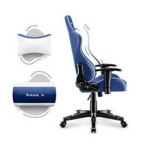 Ultra comfortable HZ-Ranger 6.0 Blue gaming chair small 3
