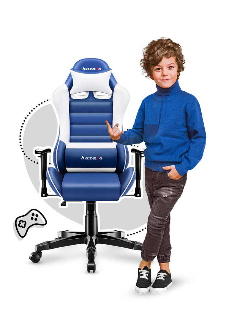 Ultra comfortable HZ-Ranger 6.0 Blue gaming chair