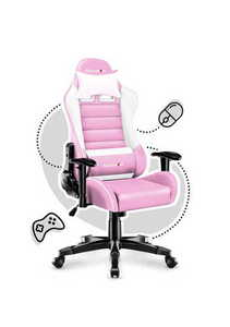 Ultra comfortable HZ-Ranger 6.0 Pink gaming chair small 1