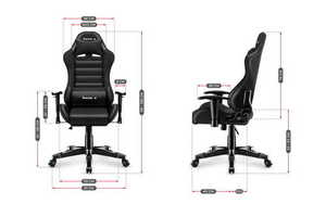 Ultra comfortable HZ-Ranger 6.0 Black gaming chair small 3