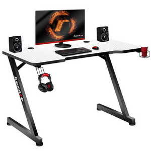 Ultra modern gaming desk HZ-Hero 2.5 White small 0