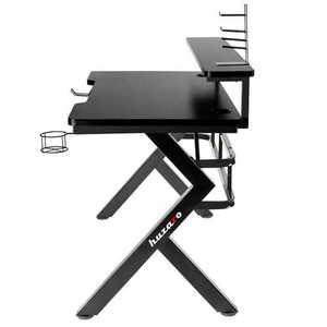 Ultra modern gaming desk HZ-Hero 5.0 Black small 1